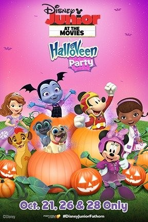 Disney Junior at the Movies -- Halloween Party! (2017) - Seattle ...