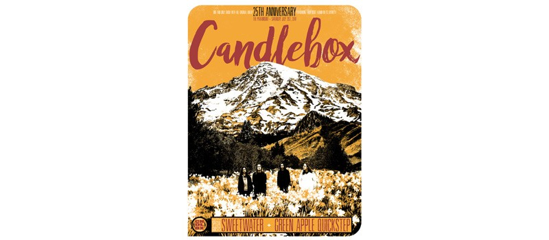 Candlebox, Sweetwater, Green Apple Quick Step At Paramount Theatre