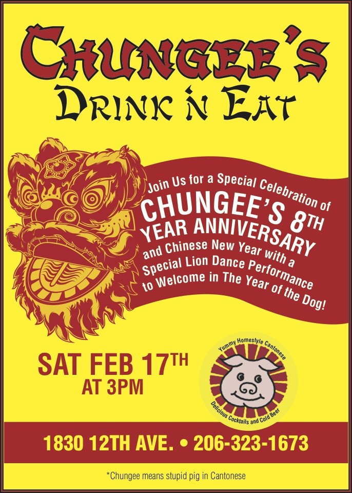 Chungee\'s 8 Year Anniversary and Chinese New Year at Chungee\'s Drink ...