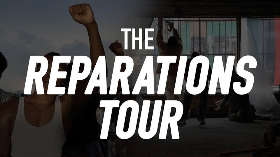 The reparations tour white solidarity with the black power the uhuru solidarity movement who organize in the white community for reparations to african people launched the black power blueprint to build economic malvernweather Gallery