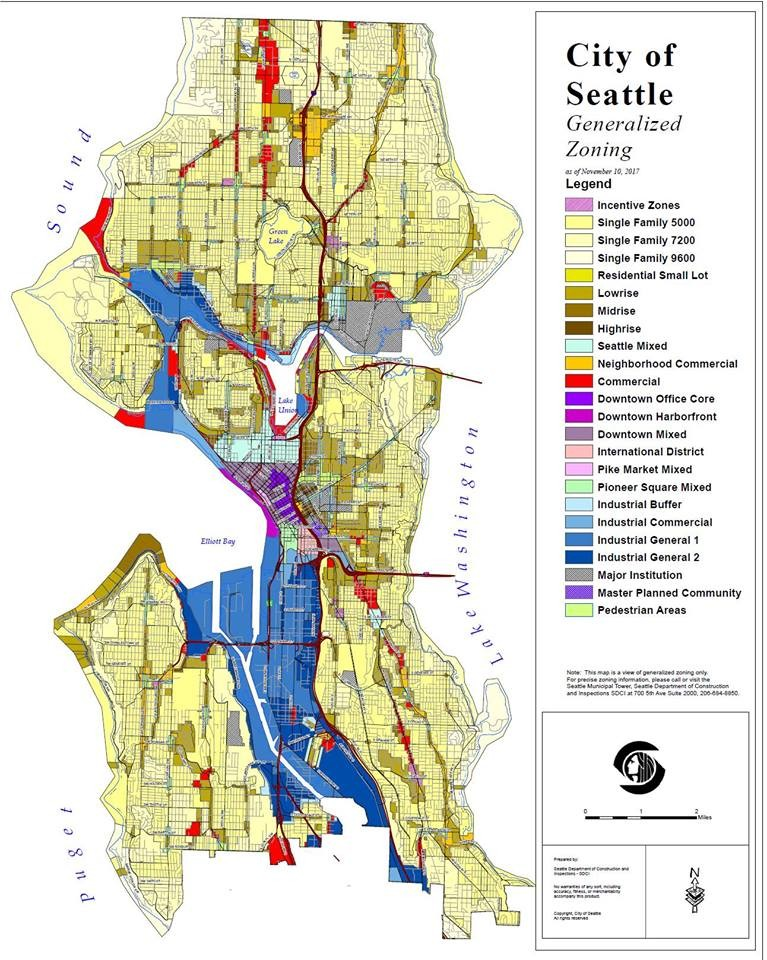 Zoning And Segregation In Seattle At Seattle Public Library White