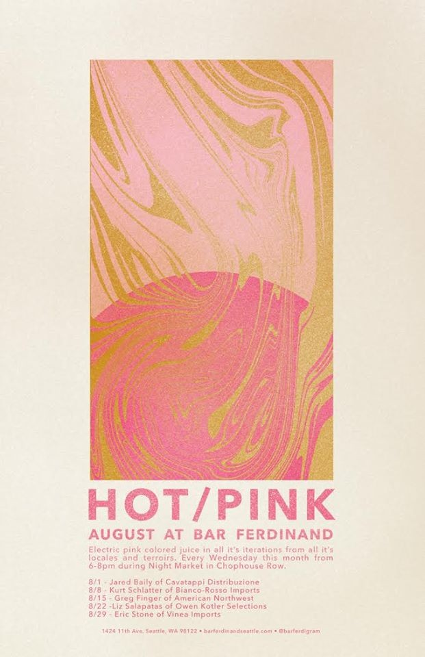 Hot/Pink at Bar Ferd\'nand in Seattle, WA on Wed Aug 8, 6–8 pm, Wed ...