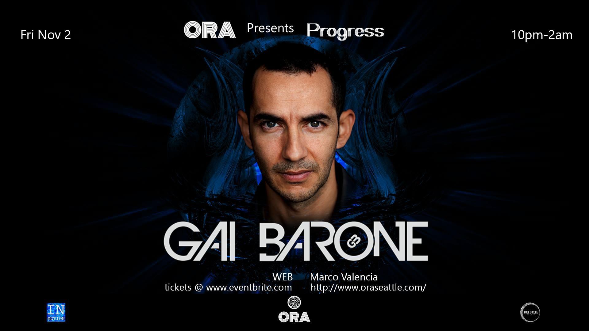 Gai Barone, WEB, Marco Valencia at Ora Nightclub in Seattle, WA on ...