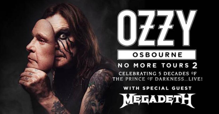 Megadeth Tour Dates 2020 Ozzy Osbourne, Megadeth at Tacoma Dome in Tacoma, WA on Sat July