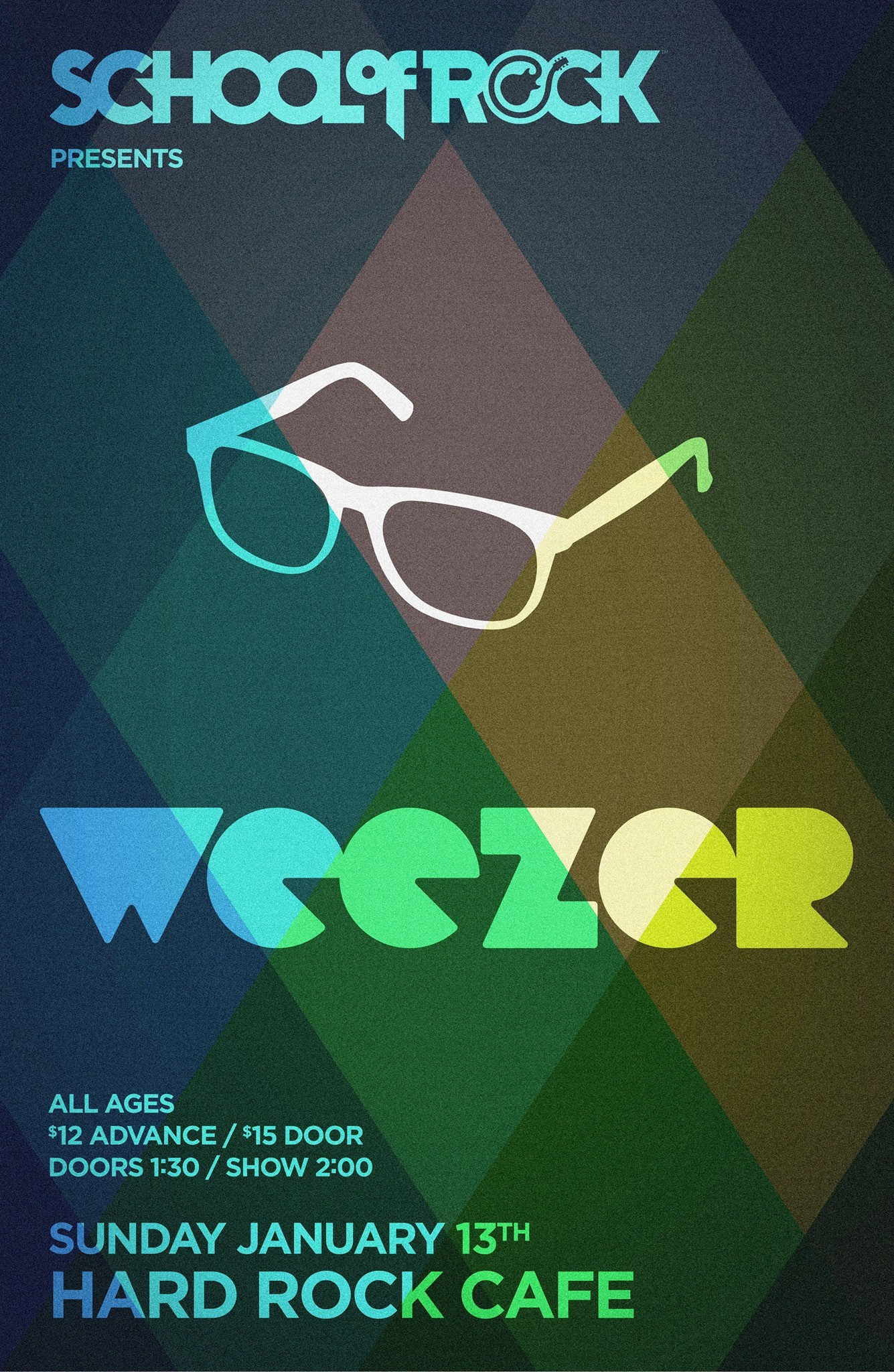 55060b4a9c9 School of Rock Seattle Presents  Weezer at Hard Rock Cafe in Seattle ...
