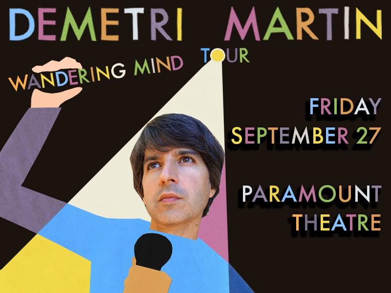 Demetri Martin: Wandering Mind Tour