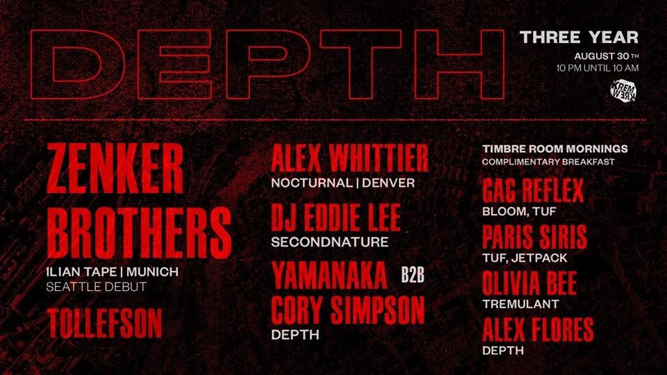 Depth 3-Year Anniversary: Zenker Brothers