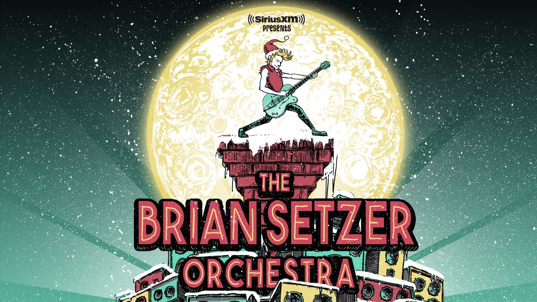 Siriusxm Christmas Music.Siriusxm Presents The Brian Setzer Orchestra S 16th Annual