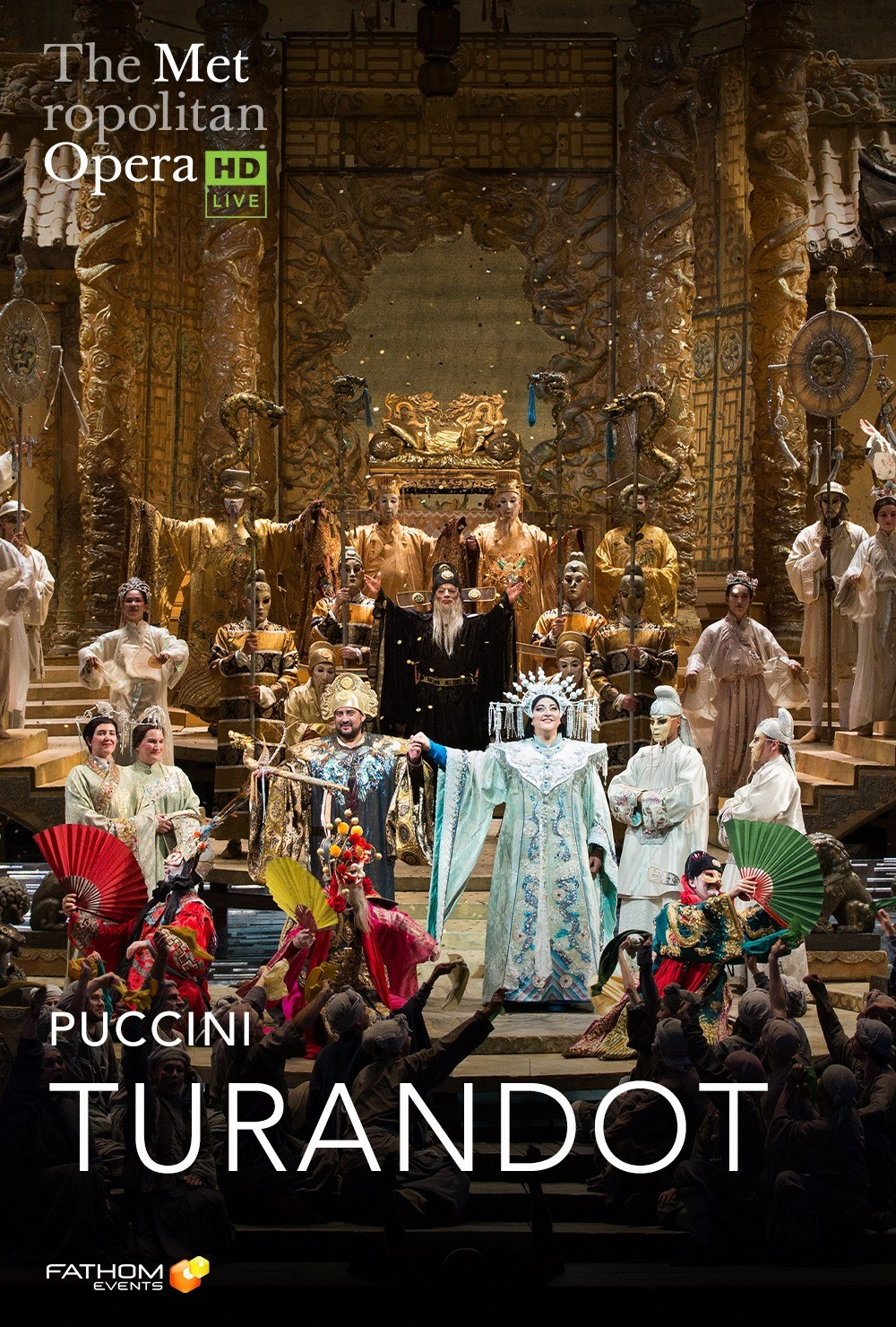 The Met Live in HD: Turandot at Various locations in Seattle, WA on