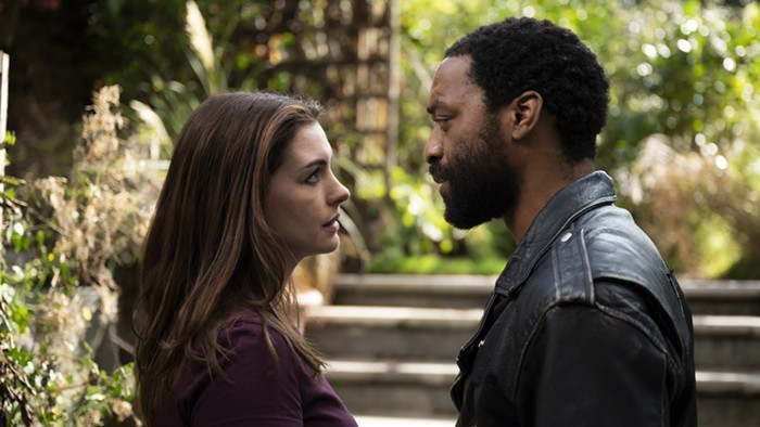 Anne Hathaway and Chiwetel Ejiofor star in Locked Down.