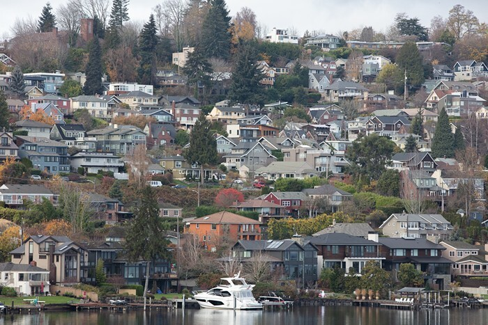 In Seattle, 75% of land is dedicated to single-family zoning. Only 3 in 10 households are owned by folks under 100% AMI