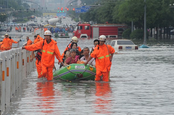 And northern China had another bad weekend. After heavy rains caused flooding over the summer, more heavy rains this week killed 15 and displaced over 100,000 people.