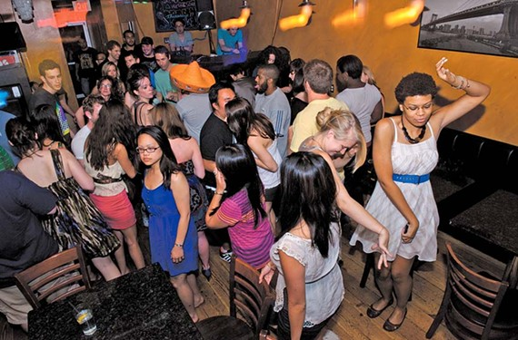 12:12 a.m. - DJ Epoc plays host to Clubluv night at New York Deli in Carytown.