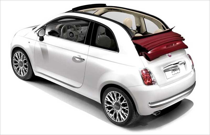 2012 Fiat 500c Lounge Convertible - FIAT