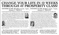4T Prosperity Classes