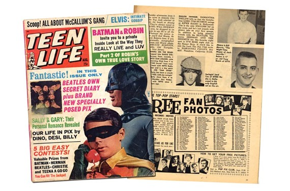 A 1966 issue of Teen Life advertises young Tony's radio accomplishments. One year after the magazine hit the stands, he was stationed in Korea and broadcasting for Armed Forces Radio.