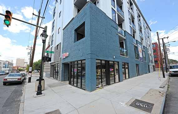 A hopeful sign or a dubious distinction? Less than two months after opening, the new ABC store at 21st and Main streets in Shockoe Bottom has done $252,525 in sales. - SCOTT ELMQUIST