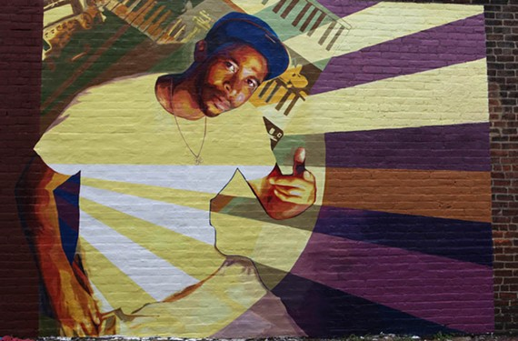 A mural in honor of the late rapper and producer Darrell K. Durant, aka Kelph Dollaz, who died last year, is being dedicated Saturday. The mural, by artist Michelle Angela, is outside Alex's Thai Cuisine at 13 N. 17th St. - LONNIE BATTLE