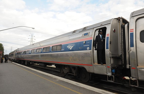 A new Amtrak line from Norfolk to Washington skips Main Street Station. - SCOTT ELMQUIST