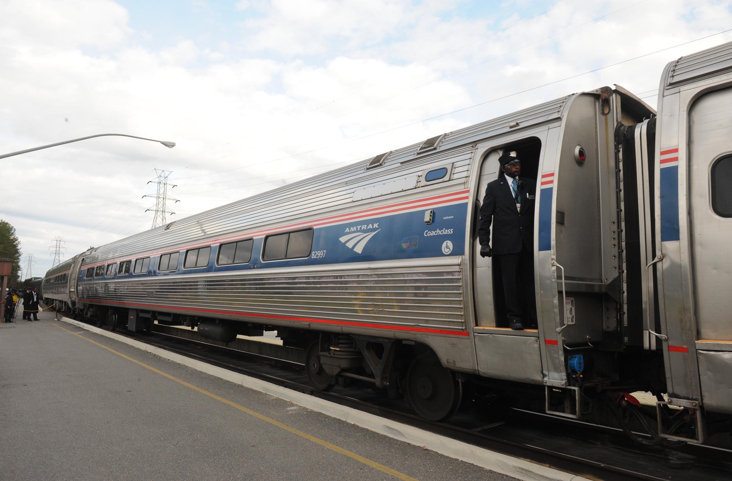 A new Amtrak line from Norfolk to Washington skips Main Street Station. - SCOTT ELMQUIST