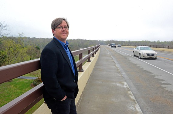 A new work by composer and University of Richmond music professor Benjamin Broening was inspired by the different affects of light on the James River as well as a poem by Wallace Stevens.