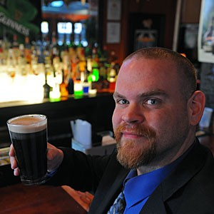 A toast (one of many): Sean McIntosh. Photo by Scott Elmquist On the AirClick here to watch Jack's appearance on Virginia This Morning.