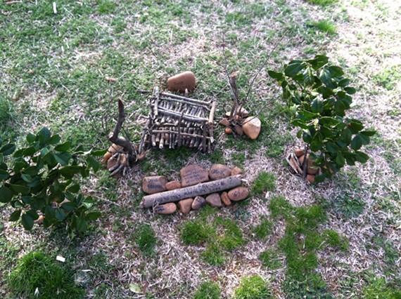 A tribute to Dave Brockie found in Hollywood Cemetery this week. - PATTY KRUSZEWSKI