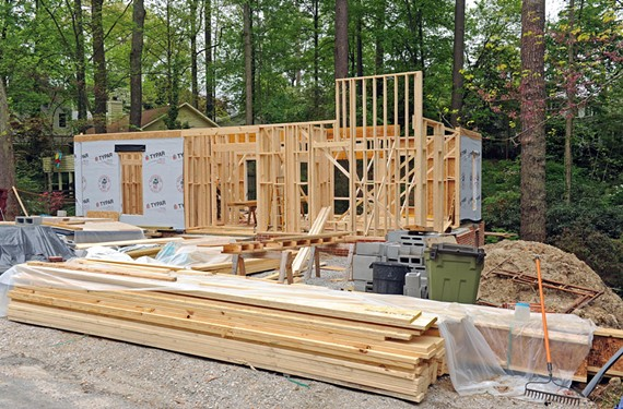 A University of Richmond Board of Trustees member from Connecticut who's drawn fire for controversial remarks is building a house next to campus.