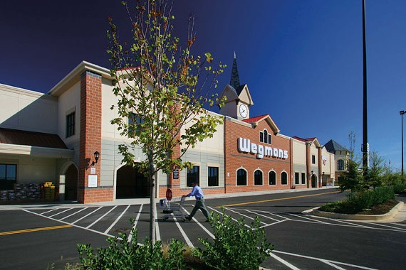 A Wegmans store in Hunt Valley, MD.