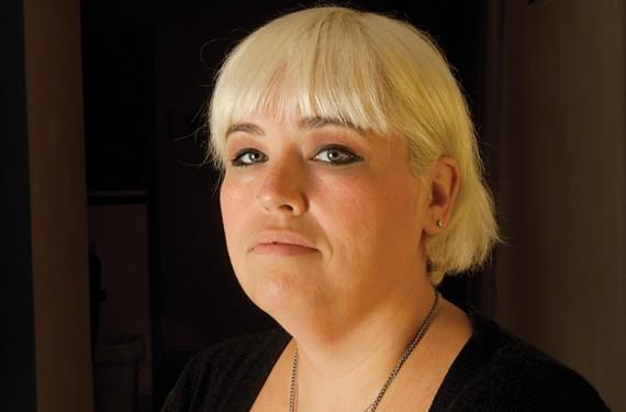 Abortion rights advocate Shelley Abrams. - SCOTT ELMQUIST