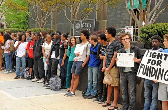 About 150 Open High School students protested the rundown conditions of Richmond Public School buildings last month. More perspectives on the impact of Brown v. Board of Education of Topeka at StyleWeekly.com.
