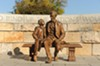 Abraham Lincoln's visit to Richmond with son Tad on April 5, 1865, is commemorated with a bronze statue by sculptor David Frech at the Richmond National Battlefield Park Civil War Visitor Center downtown.