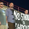 Activists Take Ballpark Protest to the Ballpark
