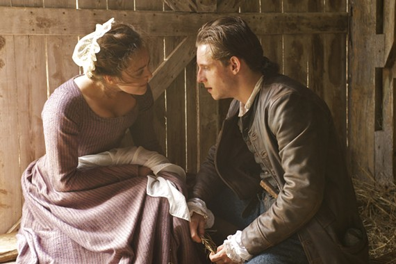 "Actor Jamie Bell (""Man on a Ledge,"" ""Jane Eyre"") plays New York farmer Abe Woodhull in the new series."
