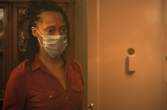 "Actress Cherise Boothe plays Jade, a woman who has become a shut-in thanks to her obsessive-compulsive disorder and mysophobia in the new film ""Contamination"" by a group of former WTVR employees."