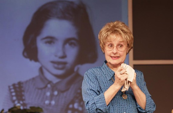 Actress Eileen DeSandre plays Dr. Ruth Westheimer in the fun new one-woman production by Virginia Rep at Hanover Tavern. Westheimer has at times been a sex therapist, trained sniper and a refugee in Palestine.