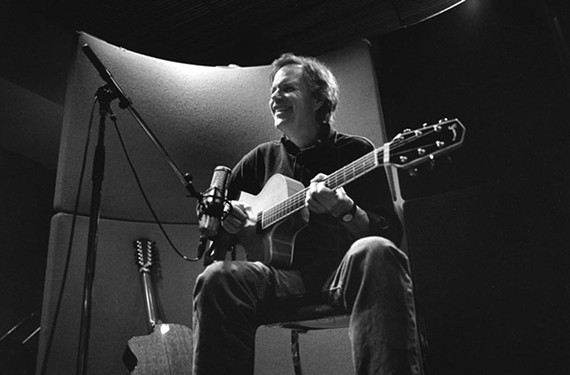 """After decades in show business, Leo Kottke is still in love with the acoustic guitar. """"You'd give up anything for it,"""" the legendary folk musician says. For more of our in-depth interview with Kottke, who will perform June 6 at the John Marshall Hotel, go to styleweekly.com."""