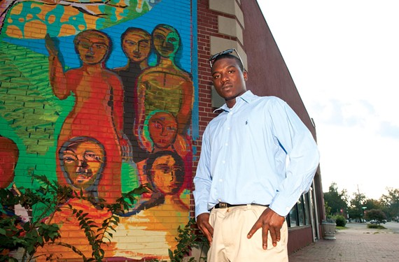 After four years of unemployment, Rondell Jones found work after taking job-training courses at the East District Family Resource Center in Church Hill. - SCOTT ELMQUIST