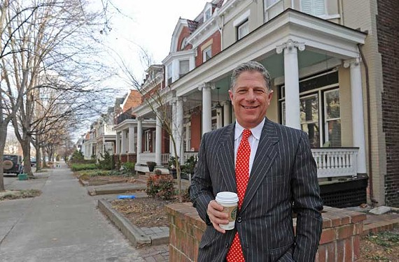 Among the more interesting City Council races, local developer Charlie Diradour is taking on incumbent Charles Samuels in the Fan District. - SCOTT ELMQUIST