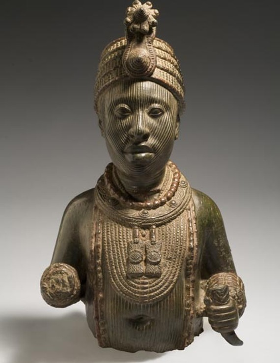 "An exhibit on the Ife art, now on display at the Virginia Museum of Fine Arts, has been called one of the most important collections of West African art ever shown in the United States Pictured: ""Torso of a King."" - PHOTO COURTESY THE VIRGINIA MUSEUM OF FINE ARTS"
