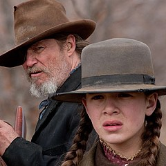 """She draws him like a gun."" Jeff Bridges joins Hailee Steinfeld's posse in the Coen Brothers' remake of ""True Grit."""