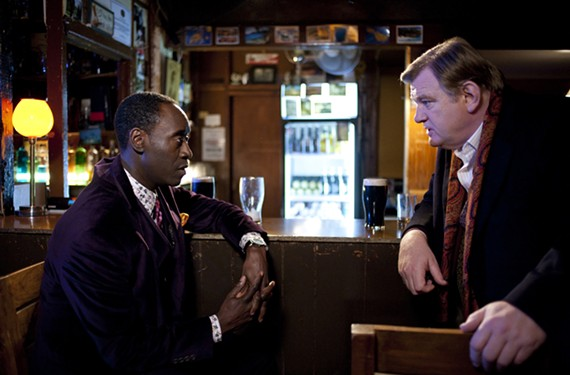 """""""Am I Oscar or are you Felix?"""" Don Cheadle and Brendan Gleeson meet cute in """"The Guard."""""""
