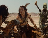 """Are you CGI or am I?"" Lynn Collins, Taylor Kitsch and Samantha Morton star in a big- budget fantasy film based on the sci-fi novels of Edgar Rice Burroughs."