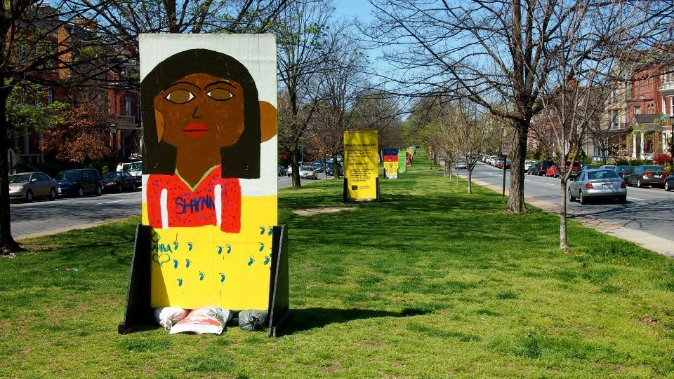 Art 180 has been ordered to remove its art installation on Monument Avenue. - PHOTO COURTESY OF ART 180