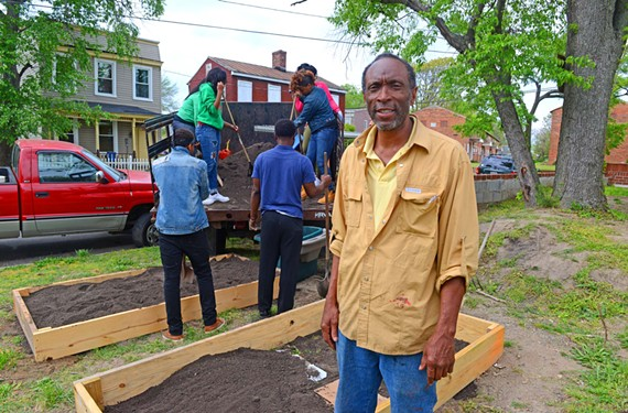 Art Burton, founder of Kinfolks Community, is a gardener who is hoping to make a difference by beautifying Mosby.
