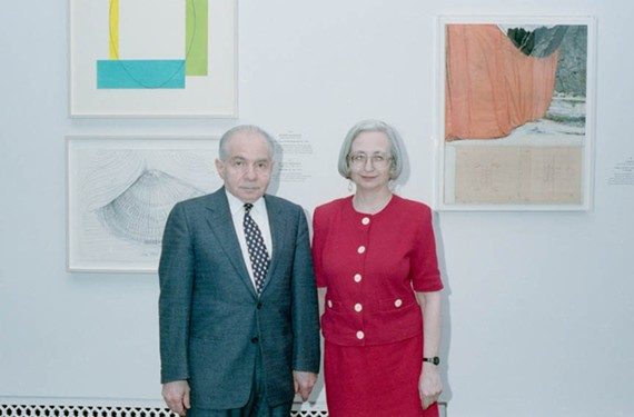 Art collectors Herb and Dorothy Vogel amassed an impressive art collection on limited means. - LORENE EMERSON