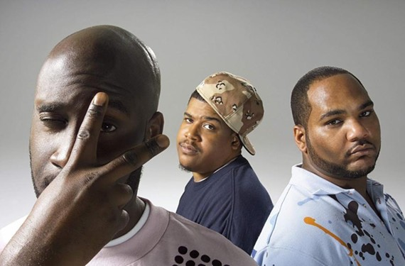 "As De La Soul, Posdnous (Kelvin Mercer), Dave (David Jude Jolicoeur) and Maseo (Vincent Mason) continue to rewrite the rules of hip-hop music. ""We are kind of like chameleons,"" Pos says."