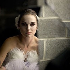 "As the repressed ballerina in Darren Aronofsky's visceral ""Black Swan,"" Natalie Portman must get in touch with the slutty side of the Force."