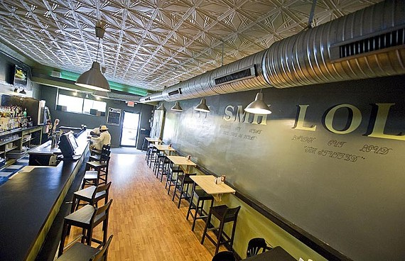 At OMG Café and Lounge in Church Hill, a conversational theme engages guests and staff. - ASH DANIEL