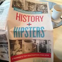 Bartender in Richmond Tourism Ad 'Shocked' by Hipster Headline